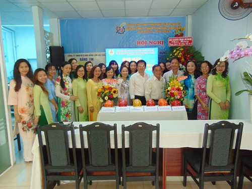 "Meeting celebrated the 108th anniversary of the International Women""s Day 8-3 and the 1978 year of the Hai Ba Trung uprising"